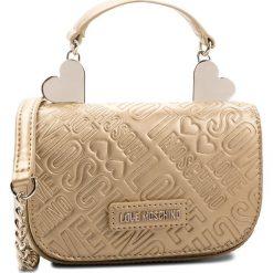 Torebka LOVE MOSCHINO - JC4244PP06KF0901 Oro. Żółte torebki klasyczne damskie marki Love Moschino, ze skóry ekologicznej, bez dodatków. Za 719,00 zł.