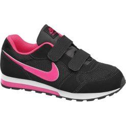 Buty dziecięce Nike Md Runner 2 NIKE czarne. Czarne buciki niemowlęce Nike, z gumy, na rzepy. Za 159,90 zł.