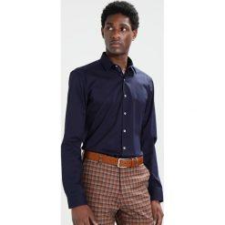 Koszule męskie na spinki: Eterna SUPER SLIM FIT Koszula biznesowa dunkelblau