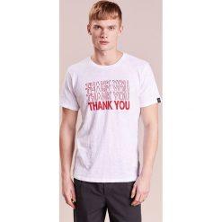 Rag & bone THANK YOU TEE Tshirt z nadrukiem white. Białe t-shirty męskie z nadrukiem rag & bone, m, z bawełny. Za 439,00 zł.