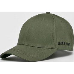 Jack & Jones - Czapka. Szare czapki z daszkiem męskie Jack & Jones. W wyprzedaży za 49,90 zł.