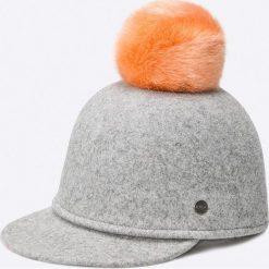 Barts - Czapka Wander Cap heather grey. Brązowe czapki z daszkiem damskie marki Barts, z materiału. W wyprzedaży za 159,90 zł.