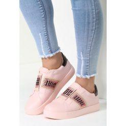 Różowe Buty Sportowe Move Around. Szare buty sportowe damskie marki other, z materiału. Za 79,99 zł.