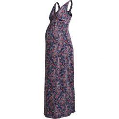 Długie sukienki: Anna Field MAMA Długa sukienka dark blue/rose