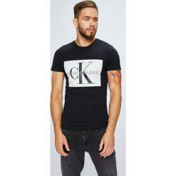Calvin Klein Jeans - T-shirt/polo J30J307843. Szare koszulki polo Calvin Klein Jeans, l, z nadrukiem, z bawełny. Za 199,90 zł.