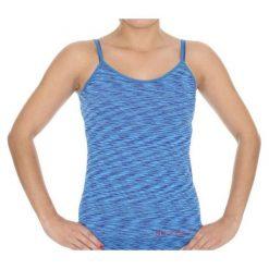 Bluzki sportowe damskie: Brubeck Koszulka damska Camisola Fusion niebieska r. S (CM10110)