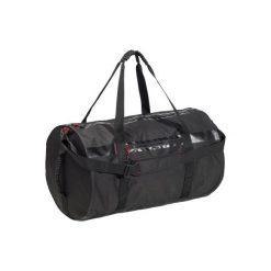 Torba fitness kardio 55l. Czarne torby podróżne marki DOMYOS, z materiału, duże. Za 119,99 zł.