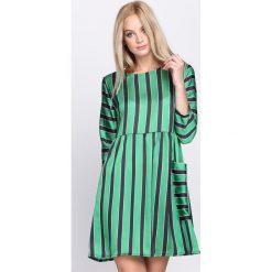 Zielona Sukienka Oyster. Zielone sukienki hiszpanki Born2be, na lato, s. Za 89,99 zł.
