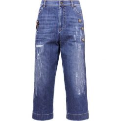 IBlues CIUFFO Szorty jeansowe blue jeans. Niebieskie jeansy damskie iBlues, z bawełny. W wyprzedaży za 454,50 zł.