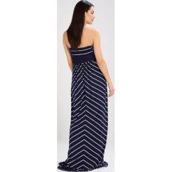 Envie de Fraise FREYA Długa sukienka navy blue/off white. Niebieskie długie sukienki marki Envie de Fraise, z dżerseju, z długim rękawem. Za 469,00 zł.