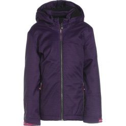 Killtec REANA ALLOVER  Kurtka Outdoor violett. Niebieskie kurtki chłopięce marki Retour Jeans, z bawełny. W wyprzedaży za 203,40 zł.