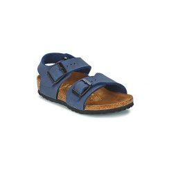 Sandały Dziecko  Birkenstock  NEW YORK. Niebieskie sandały chłopięce Birkenstock. Za 191,20 zł.