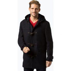 Finshley & Harding - Płaszcz męski – Black Label, niebieski. Czarne płaszcze na zamek męskie Finshley & Harding, m, w kratkę, z wełny, klasyczne. Za 899,95 zł.