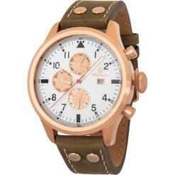 """Zegarki męskie: Zegarek """"Southport"""" w kolorze brązowo-różowozłoto-białym"""