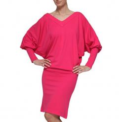Sukienka w kolorze różowym. Czerwone sukienki marki YULIYA BABICH, xs, midi. W wyprzedaży za 189,95 zł.