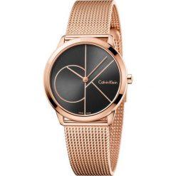 ZEGAREK CALVIN KLEIN MINIMAL K3M22621. Brązowe zegarki damskie marki Calvin Klein, szklane. Za 1169,00 zł.