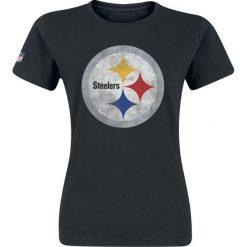 Bluzki asymetryczne: NFL Pittsburgh Steelers Koszulka damska czarny