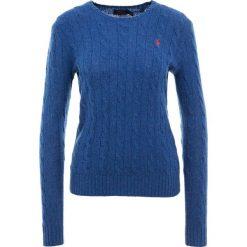 Polo Ralph Lauren JULIANNA Sweter new blue heather. Niebieskie swetry klasyczne damskie Polo Ralph Lauren, xl, z kaszmiru, polo. Za 629,00 zł.