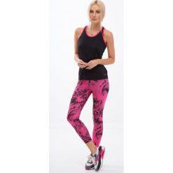 Różowe legginsy w czarne wzory H0060. Czarne legginsy Fasardi, l. Za 59,00 zł.