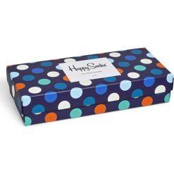 Happy Socks - Skarpety Gift Box (4-pack). Szare skarpetki męskie Happy Socks, z bawełny. Za 119,90 zł.