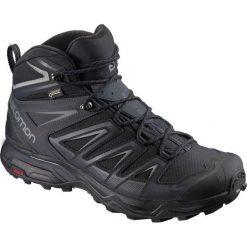 Buty trekkingowe męskie: Salomon Buty męskie X Ultra 3 Wide Mid GTX Black/India Ink r. 42 2/3 (401293)