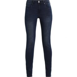 Kaffe GRACE  Jeansy Slim Fit deep well denim. Czarne jeansy damskie Kaffe. Za 249,00 zł.