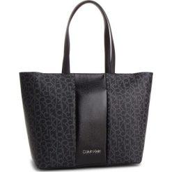 Torebka CALVIN KLEIN - Mono Block Shopper K60K604691 904. Czarne shopper bag damskie marki Calvin Klein, ze skóry ekologicznej, na ramię. Za 649,00 zł.