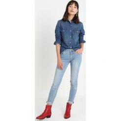 Calvin Klein Jeans WESTERN LEAN Koszula barcelona blue. Niebieskie koszule jeansowe damskie Calvin Klein Jeans, s. Za 399,00 zł.