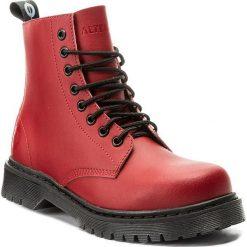 Buty zimowe damskie: Trapery ALTERCORE – 651D Red