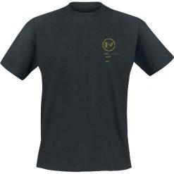 T-shirty męskie: Twenty One Pilots Bandito Circle T-Shirt popielaty/czarny