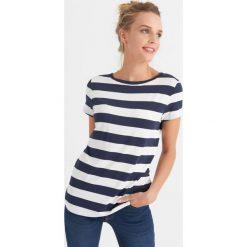 Odzież damska: T-shirt w paski