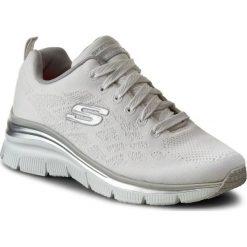 Sneakersy SKECHERS - Style Chic 12703/WHT White. Niebieskie sneakersy damskie marki Skechers. W wyprzedaży za 199,00 zł.