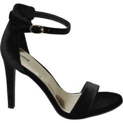 Sandały damskie: sandały na obcasie Graceland czarne