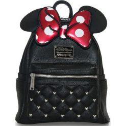 Torebki i plecaki damskie: Minnie Maus Bow Plecak czarny/czerwony/biały