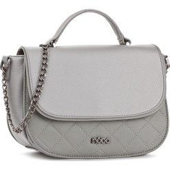 Torebka NOBO - NBAG-D3740-C019 Szary. Szare torebki klasyczne damskie Nobo, ze skóry ekologicznej, duże. W wyprzedaży za 129,00 zł.