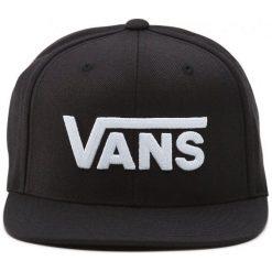 Vans Czapka Mn Drop V Ii Snapback Black/White Os. Białe czapki z daszkiem męskie marki Vans, klasyczne. Za 115,00 zł.