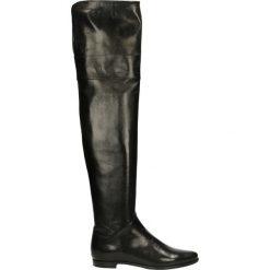 Kozaki - 6894X N N J16. Czarne buty zimowe damskie marki Venezia, ze skóry. Za 939,00 zł.