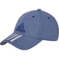 Czapki męskie: Adidas Czapka z daszkiem męska 6P 3S Cap niebieska r. OSFL