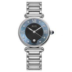 ZEGAREK EPOS Ladies 8000.700.20.85.30. Niebieskie zegarki damskie EPOS, ze stali. Za 3200,00 zł.