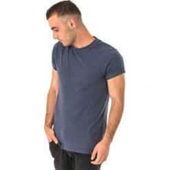 Hi-tec Koszulka męska Plain Navy Melange r. M. Niebieskie koszulki sportowe męskie marki Hi-tec, m. Za 33,75 zł.