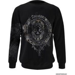 Bluza 2REBEL męska. Czarne bluzy męskie z nadrukiem marki Pakamera, m, z kapturem. Za 294,00 zł.