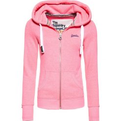 Bluzy damskie: Superdry ORANGE LABEL PRIMARY Bluza rozpinana blizzard pink snowy