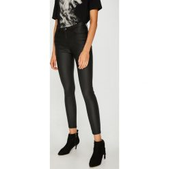 Medicine - Jeansy Royal Purple. Fioletowe jeansy damskie rurki MEDICINE, z denimu, z obniżonym stanem. Za 139,90 zł.