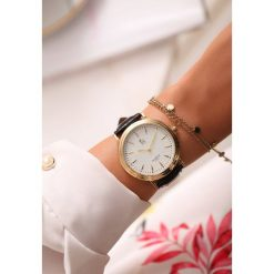 Zegarki damskie: Czarno-Złoty Zegarek Fair Game