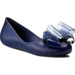 Baleriny ZAXY - Link Ballerina Fem 82038 Navy 90096 W285033 02064. Niebieskie baleriny damskie Zaxy, z tworzywa sztucznego. W wyprzedaży za 149,00 zł.