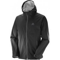 Salomon Kurtka La Cote Flex 2.5l Jkt M Black L. Czarne kurtki sportowe męskie Salomon, l. W wyprzedaży za 499,00 zł.
