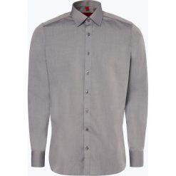 Finshley & Harding - Koszula męska łatwa w prasowaniu, szary. Czarne koszule męskie non-iron marki Finshley & Harding, w kratkę. Za 129,95 zł.