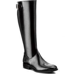 Buty zimowe damskie: Oficerki KAZAR – Lluvia 31305-01-00 Czarny