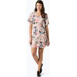 More & More - Sukienka damska, różowy. Czerwone sukienki hiszpanki More & More, z szyfonu, z krótkim rękawem, mini. Za 399,95 zł.