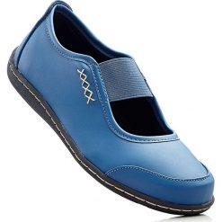 Meliski damskie: Baleriny bonprix niebieski dżins